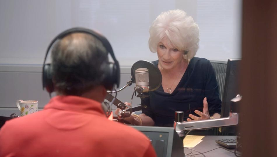 Live in the studio, The Diane Rehm Show